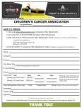 Order Form Template - Edit - Children's Cancer Association - Page 2
