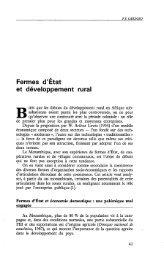 Fermes d'Etat et développement rural - Politique Africaine