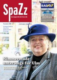 Nimmermüde unterwegs für Ulm - KSM Verlag