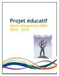 Le projet éducatif de l'école de la Vie - Commission scolaire de Laval