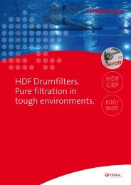 Hydrotech Drumfilter type HDF-1G for tough environments