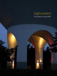 Sigtunahem Årsredovisning 2007 .pdf