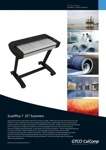 Brochure - SP7 25 Inch - compressed
