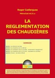 LA REGLEMENTATION DES CHAUDIÈRES - Xpair