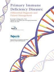 Primary Immune Deficiency Diseases - NHIA