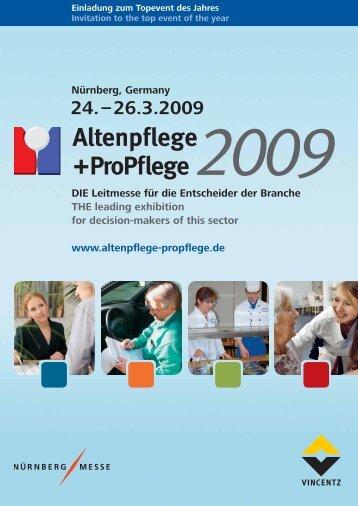 Altenpflege +ProPflege 2009 - Vincentz Network