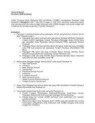 Terma & Syarat - United Overseas Bank Malaysia