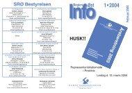 SRØ-Info 1-04 28s - Dansk Svømmeunion