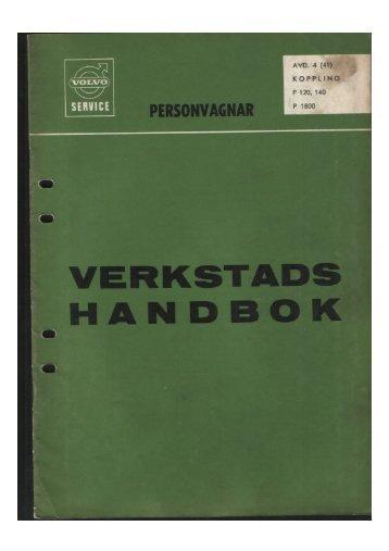 VERKSTADS - Volvo 1800 Picture Gallery