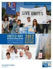 UNITED WAY - te: www.UWRA.org.