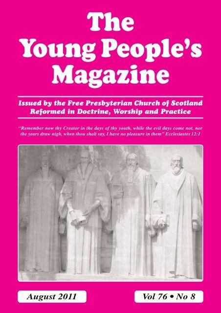 August - the Free Presbyterian church of Scotland