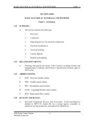 SECTION 16050 - BASIC ELECTRICAL MATERIALS AND METHODS