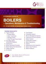 firetube boilers - CMT Conferences