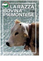 Page 1 Page 2 Razza Bovina Piemontese Periodico di informazioni ...