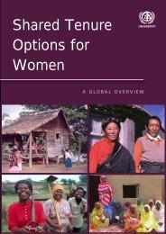 Shared Tenure Options for Women - UN-Habitat
