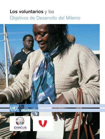 Los voluntarios y los Objetivos de Desarrollo del Milenio