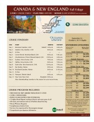 CANADA & NEW ENGLAND Fall Foliage - MSU Alumni Association ...