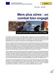 Prestige: les pêcheurs français pourront bénéficier ... - Campus do Mar