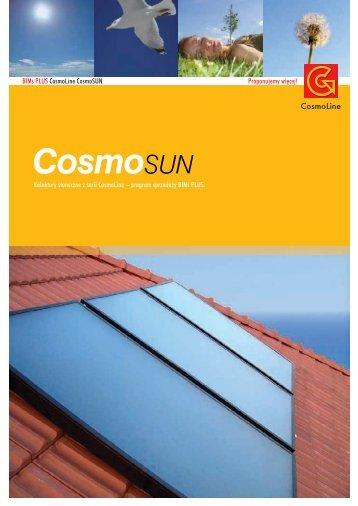 Kolektor s∏oneczny CosmoSUN Basic dane techniczne