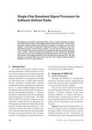 Single-Chip Baseband Signal Processor for Software-Defined Radio