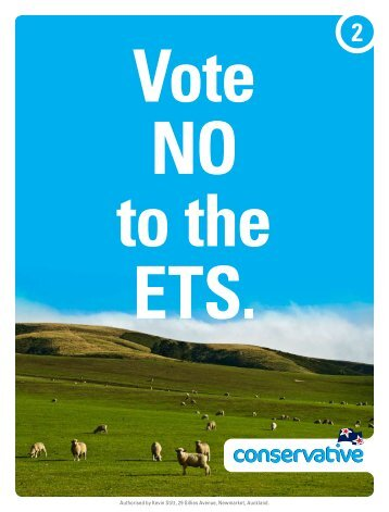 Mailer 2 Vote NO to the ETS