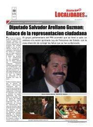 Diputado Salvador Arellano Guzman; Enlace de la representacion ...