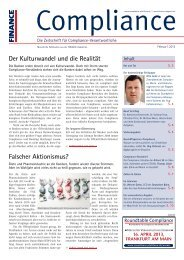(PDF )   Ausgabe Februar 2013 - Compliance