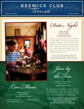 Keswick Club Newsletter