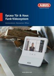 Eycasa Tür & Haus Funk-Videosystem - Abus