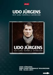 UDO JÜRGENS - adlmann promotion