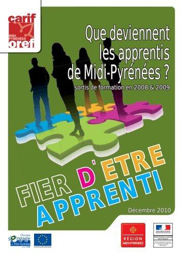 Que deviennent les apprentis de Midi-Pyrénées sortis