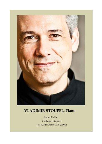 VLADIMIR STOUPEL, Piano