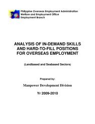 analysis of in-demand skills and hard-to-fill positions for overseas ...