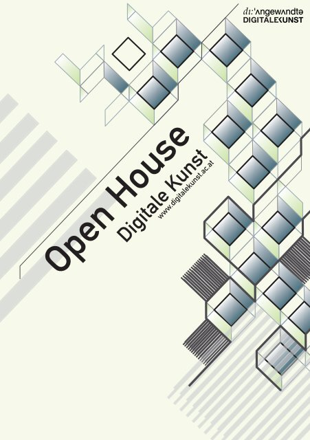 open house - folder - Digitale Kunst