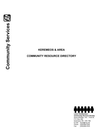 Community Services - Town of Keremeos