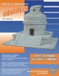 cientitech - DEPI - Instituto Tecnológico de Chihuahua