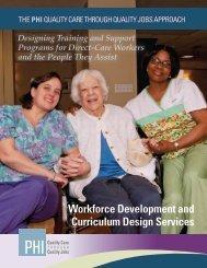 Workforce Development and Curriculum Design Services - PHI