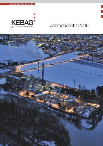 Jahresbericht 2009 - Kebag