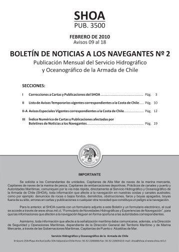 BOLETÍN DE NOTICIAS A LOS NAVEGANTES Nºº 2 - Shoa