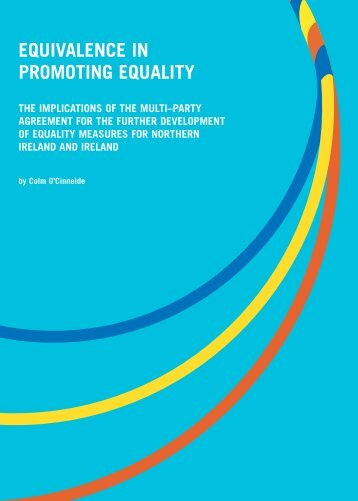 Equivalence in Promoting Equality.pdf (size ... - Equality Authority