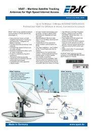 VSAt – Maritime Satellite tracking Antennas for ... - ZEPHYR MARINE