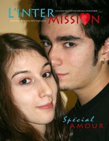 Numéro hors série: spécial amour - Hôpital Rivière-des-Prairies