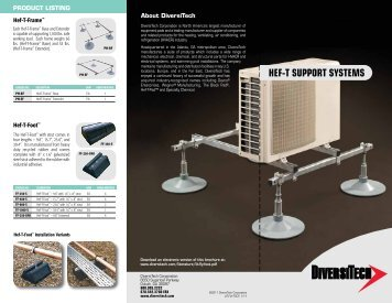 HEF-T SUPPORT SYSTEMS - media - DiversiTech