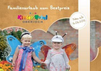Preisliste Sommer 2012 - Kinderhotel Oberjoch