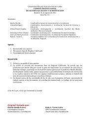 Acta No. 13 Agosto 31de 2011 - Autoevaluación y Acreditación de ...