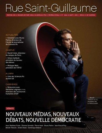 N°164 (oct 2011) - Alumni Sciences Po Paris