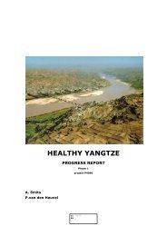 Progress report - Leven met Water Kennisopbrengsten