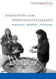 Arbeitshilfe zum Infektionsschutzgesetz - Landesjugendring Berlin