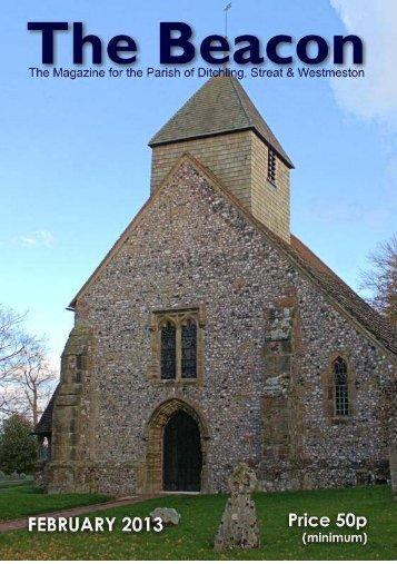 The Beacon February 2013 - Beacon Parish of Ditchling, Streat ...