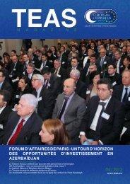 forum d'affaires de paris - un tour d'horizon des opportunités ... - TEAS